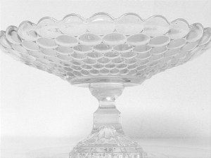 Fruteira similar cristal bolhas