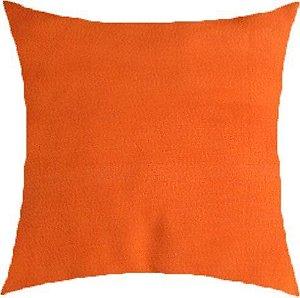 Almofada lisa laranja