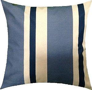 Almofada Listras Azul