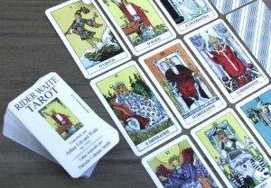 Mini Rider-Waite Tarot