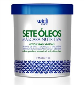 WIDI CARE MÁSCARA NUTRITIVA SETE ÓLEOS 1Kg