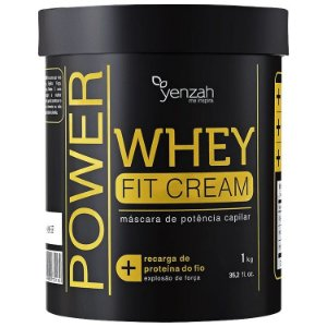 YENZAH WHEY FIT CREAM MÁSCARA 1kg