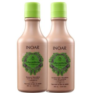 INOAR KIT DUO MACADÂMIA SHAMPOO E CONDICIONADOR 250ml