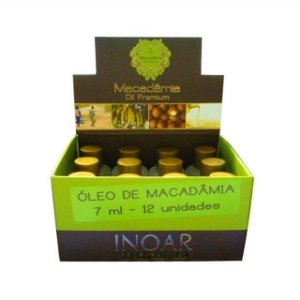 INOAR MACADÂMIA OIL PREMIUM DISPLAY 12 X 7ml