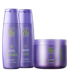 ALFAPARF NUTRI SEDUCTION MÁSCARA  500ml / SHAMPOO  250ml / LEAVE IN  250ml