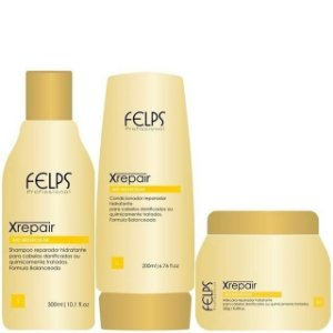 FELPS XREPAIR SHAMPOO 300ml / CONDICIONADOR 200ml / MÁSCARA 250g