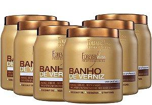 FOREVER LISS  BANHO DE VERNIZ  1Kg - 6 UNIDADES