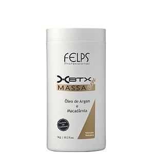 FELPS XBTX TRATAMENTO CAPILAR EM MASSA ÓLEO DE ARGAN E MACADÂMIA 1kg