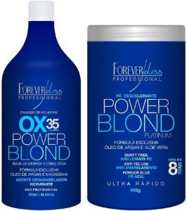 FOREVER LISS  POWER BLOND KIT DESCOLORAÇÃO