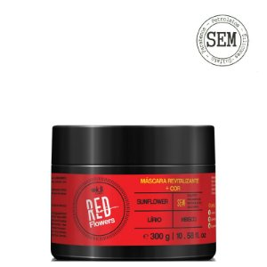WIDI CARE RED FLOWERS MÁSCARA REVITALIZANTE + COR 300g