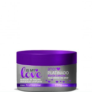 IS MY LOVE AMOR PLATINADO BOTOX CAPILAR 250g