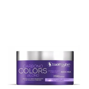 MORGANE BIO CARE MÁSCARA CARBONO COLORS BLOND 250g