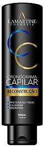 LAMARTINE COSMETIC CRONOGRAMA CAPILAR RECONSTRUÇÃO 500ml