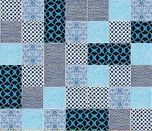 Kit Azul com 20 peças