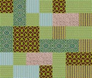 Kit Verde com 20 peças