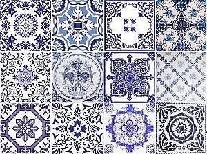 Kit Colonial Português com 40 peças