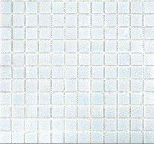 Pastilha Vidro Branca Pigmentada 2x2
