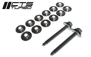 Kit Reforço / Travamento de Agregado (subframe) MK6/MK7/8P/8V/MK2 Audi TT | Subframe Collar | Subframe Bushings kit