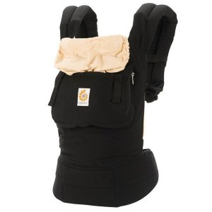 Canguru - Baby Carrier Ergobaby - Original Collection - Black/Camel