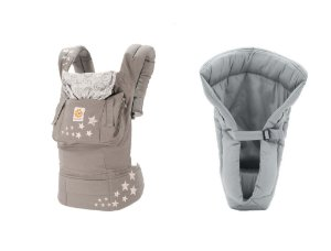 Combo Canguru Coleção Original Galaxy Grey + Infant Insert Grey