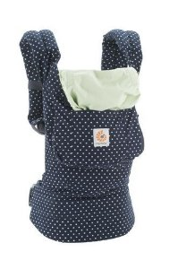 Canguru - Baby Carrier Ergobaby - Original Collection - Indigo Mints Dots  ************** muito bonito !!!!