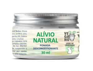 Pomada descongestionante Alívio Natural 30g