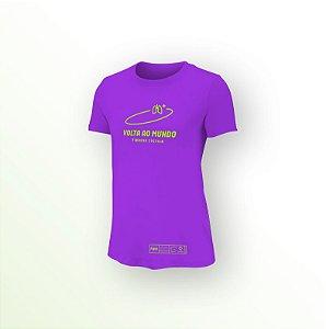 Camiseta Desafio Volta ao Mundo pela Fibrose Cística