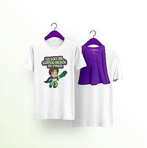 Camiseta Eu Sou Um Super-Herói de Fibra