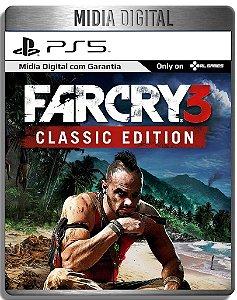 Far Cry 3 Classic - Ps5 Psn - Mídia Digital Primaria Retro