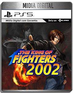 The King Of Fighters 2002 Kof 2002 - Ps5 Psn - Mídia Digital Primária Retro