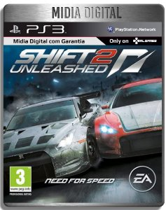 Need For Speed Shift 2 Unleashed - Ps3 Psn - Mídia Digital