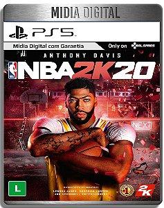 NBA 2K20 - Ps5 Psn - Mídia Digital Retro
