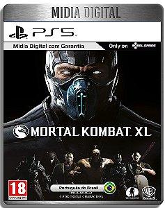 Mortal Kombat XL - Mk XL - Ps5 Psn - Midia Digital Retro