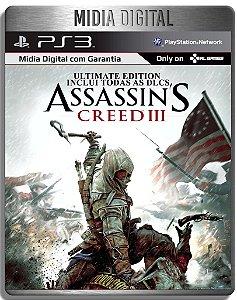 Assassins Creed 3 Ultimate Edition - Ps3 Psn - Mídia Digital
