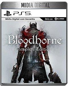 Bloodborne Complete Edition + DLC The Old hunters - Ps5 Psn - Mídia Digital Retro