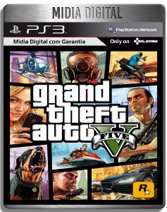 Grand Theft Auto 5  Gta 5 - Ps3 Psn - Mídia Digital