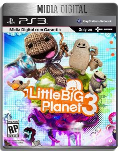 Littlebigplanet 3 Dublado - Ps3 Psn - Mídia Digital