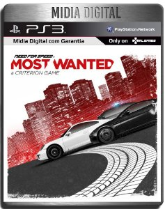 Need For Speed : Most Wanted - Ps3 Psn - Mídia Digital