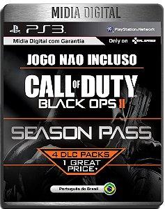 Season Pass Cod Black Ops 2 Em Portugues - Ps3 Psn - Mídia Digital ( Jogo não incluso )