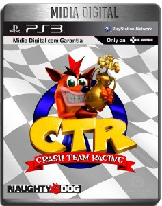 Crash Team Racing - Clássico Ps1 -  Ps3 Psn - Mídia Digital