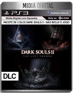 The Lost Crowns: Dark Souls 2  - Ps3 Psn - Pacote 3 DLCS ( Jogo não incluso )