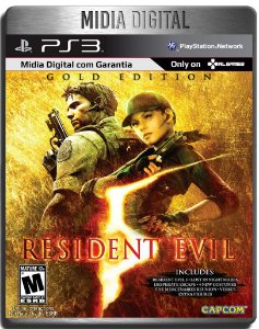 Resident Evil 5 Gold Edition - Ps3 Psn - Mídia Digital