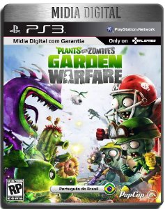Plants Vs Zombies Garden Warfare - Ps3 Psn - Mídia Digital