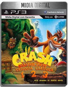 Crash Bandicoot Trilogia - Clássicos De Ps1 - Ps3 Psn - Mídia Digital