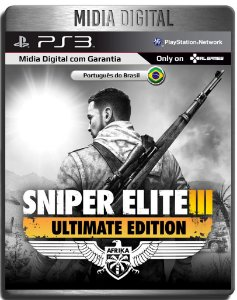 Sniper Elite 3 Ultimate Edition + Dlcs  - Ps3 Psn - Mídia Digital
