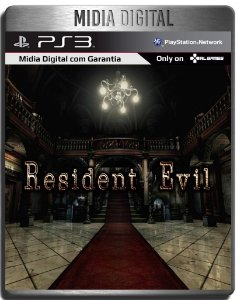 Resident Evil 1 Hd Remaster - Ps3 Psn - Mídia Digital