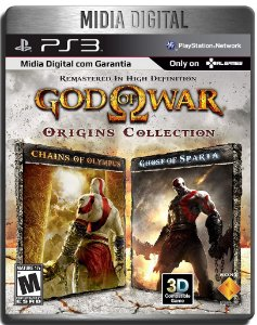 God Of War Origins Collection - Ps3 Psn - Mídia Digital