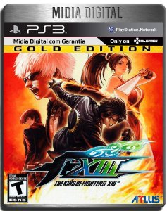 The King Of Fighters kof 13 Gold Edition + Dlcs  - Ps3 Psn - Mídia Digital