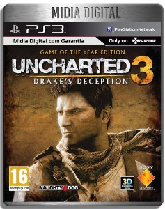 Uncharted 3 Game Of The Year  Ps3 Psn - Mídia Digital