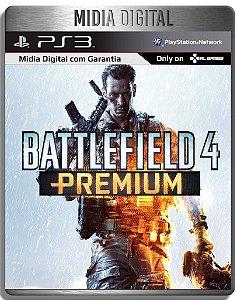 Battlefield 4  Bf4 Premium ( Jogo + Dlcs ) - Ps3 Psn - Mídia Digital